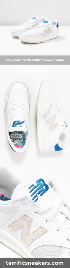 fucking awesome: New Balance CRT300D Sneaker white #Sneakers