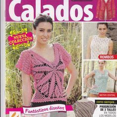 Crochet Calados 2013 (вязание крючком). Crochet Chart, Crochet Lace, Knitting Magazine, Crochet Magazine, Crochet Books, Knit Fashion, Book Crafts, Craft Books, Gifs