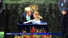 COP21 , 175 pays signent l'accord sur le climat