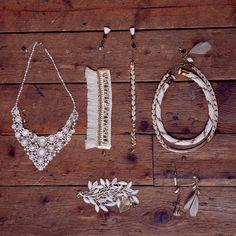 Bijoux de mariage d'inspiration folk SESSUN