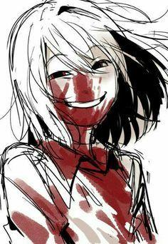 Resultado De Imagen De Anime Creepy Face Horror Art Anime Art Creepy Faces