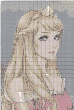Princess x-stitch