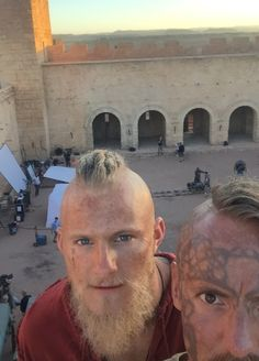 Filming Season 5 Vikings Season 5, Vikings Show, Vikings Tv Series, Vikings Ragnar, Ragnar Lothbrok, Viking Wallpaper, Valhalla Viking, Viking Quotes, Viking Series