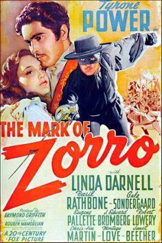 """""""A Marca Do Zorro""""(1941)"""