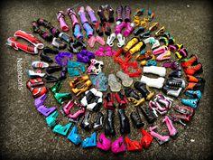 Barbie shoes.