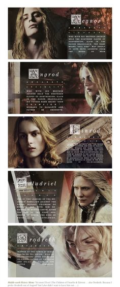 House of Finarfin <><> *is slowly dying of the awesomeness* Finrod's a bit too girly for my taste, though.