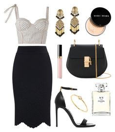 """""""Dressed for Success"""" by tasha-m-e ❤ liked on Polyvore featuring Alexander McQueen, Rosie Assoulin, Tom Ford, Chloé, Etro, Chanel, Bobbi Brown Cosmetics and Sydney Evan"""