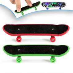 Cade Professional Mini Fingerboards/ Finger Skateboard Pack (Random Pattern): Quantity: 2 pcs in random color <br> * Size: <br> * Material: plastic <br> * Style: Single become warped plate <br> * Suitable Person: Kids <br> * Weight: oz / 10 g <br> Street League, Finger Skateboard, Tech Deck, Br Style, Skateboards, Packers, Action Figures, Random Pattern, Mini