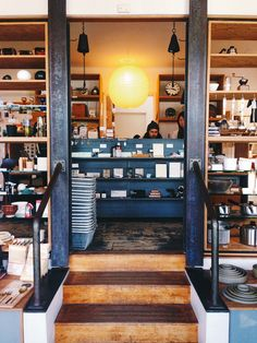 TORTOISE GENERAL STORE / 1208 Abbot Kinney Blvd / Venice 90291 / provides the best in Japanese utensils, tabletop items and innovative home gadgets.  also offers quirky objects like wooden puzzles, oversize iron scissors, and Higonokami folding knives.