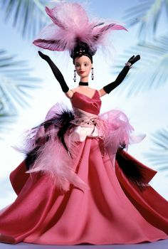 The Flamingo Barbie Doll- This is great :D