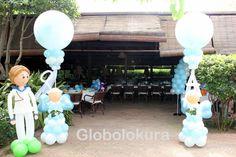 Decoración con globos para Primera comunión. Enhorabuena ALBERT!!
