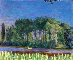 Pierre Bonnard -Bords de la Seine, 1921