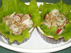 Makacska konyhája: ReteksalátaTokaji muskotályos borecettel