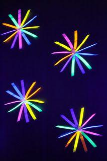 Neon/Glow in the Dark Birthday Party  sc 1 st  Pinterest & Neon Glow In The Dark Teen Birthday Party Dance Girl Decor Ideas ...
