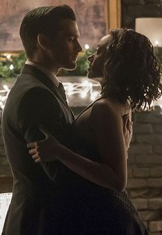 Wow talk about capturing passion n sexual chemistry on camera! The-vampire-diaries-michael-malarkey-kat-graham