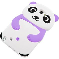 Cute #Panda Cover Case for #Samsung Galaxy Note II, Purple $12.99 From #DayDeal