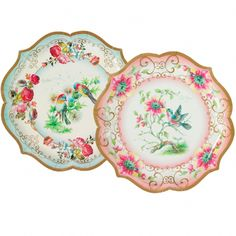 Truly Scrumptious Large Dinner Paper Plates  sc 1 st  Pinterest & Victorian China Paper Plates - way too pricey for us but we like the ...