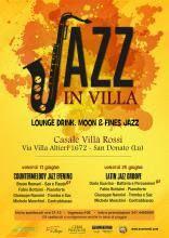 JAZZ IN VILLA Dove: Casale Villa Rossi Address:Via Villa Altieri, 1672 San Donato - Lucca When: da 17/06/2016 a 24/06/201  INFO: www.turismo.lucca.it