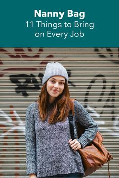 Nanny Bag: 11 Things to Bring on Every Job