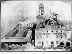 1890′s to 1919 | Grace Brother's Brewery