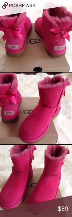 NEW UGG BAILEY BOOTS YOUTH SIZE 3 NEW UGG BOOTS FOR GIRLS YOUTH SIZE 3 UGG Shoes Boots