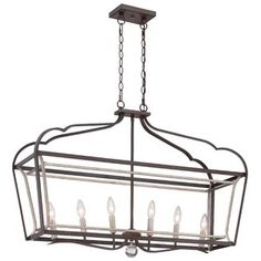 Buy the Minka Lavery Dark Rubbed Sienna with Aged Silver Direct. Shop for the Minka Lavery Dark Rubbed Sienna with Aged Silver 6 Light Single Tier Chandeliers from the Astrapia Collection and save. Foyer Pendant, Light In The Dark, Minka Lavery, Light, Lantern Lights, Silver Candle, Rectangle Chandelier, Chandelier, Chandelier Lighting