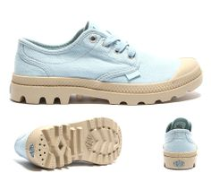 "WOMENS PAMPA OXFORD SHOE ""DREAM BLUE"""