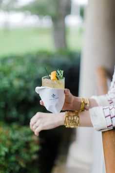 A cocktail on Sea Island Waiting on Martha  #currentlycoveting