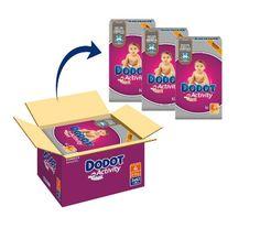 Dodot Activity – Pañales para bebé, talla 4 – 186 pañales en oferta con un 12% de descuento en Amazon España por tiempo limitado