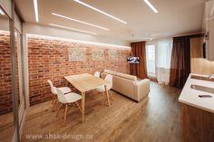 Абак | Однокомнатная квартира 38 м2 в доме серии П-44Т