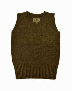 "NIGEL CABOURN ""Iberico Wool Vest"""