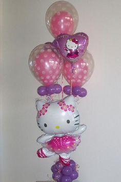 hello kitty balloon bouqet