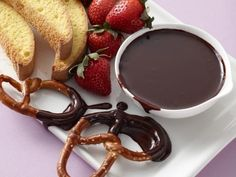 Get Slow Cooker Chocolate Fondue Recipe from Food Network