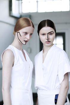Line #graphic #makeup