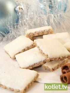 Ciasteczka orzechowe z cynamonem Baking Recipes, Cookie Recipes, Dessert Recipes, Desserts, Sweet Little Things, Polish Recipes, Dessert For Dinner, Gluten Free Baking, Christmas Baking