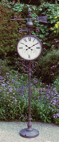 Victorian Patio Clock. Must for the backyard.