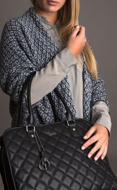 Socha Ella 13.3  Quilted Laptop Tote- Black – Laptopbags.co.uk ... : quilted laptop tote - Adamdwight.com