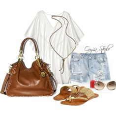 Perfect boho summer outfit!