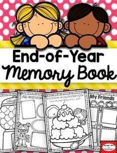 End of Year Activities End of year Memory BookPerfect way to wrap up the year. Students will love these fun, adorable pages to remember  the year by! Part of a year-long memory scrapbook. Click here for  a look! Year-long Scrapbook with End-of-Year Memory BookTable of Contents:5-8:  End-of-Year Covers9:  All About Me10:  My Summer Plans11:  My Summer Goals12:  My Favorite Summer Activities13-14:  Things I learned (2 options)15:  Student to teacher Award16-19: The COOLest thing about (grades…