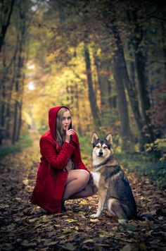 red's in the hood | Red Riding Hood by Mike Lange