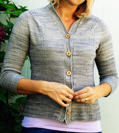 Knitty.com Cardigan 4ply?