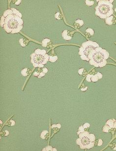 Blossom wallpaper from GP  J Baker Tangletree £75