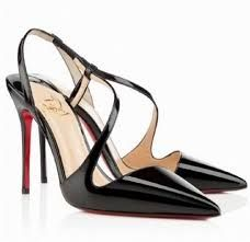 Christian Louboutin French Footwear Finest Materials New Release Online Shopping June black patent leather pumps Christian Louboutin Sandals, Louboutin Shoes, Night Club Outfits, Special Occasion Shoes, Black Patent Leather Pumps, Slingback Pump, Black High Heels, Womens High Heels, Best Brand