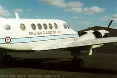 RNZAF Beech B200 Super King Air, NZ1883, Ardmore, 1998