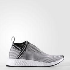 842a31c40 Adidas NMD CS2 Primeknit Shoes Dark Grey Heather Solid Grey Footwear White  Shock Pink BA7187 Nouvelle Adidas