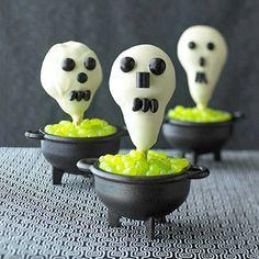 Desserts: Scary Skulls