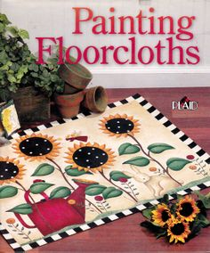 Painting Floor cloths by Plaid Inter prize