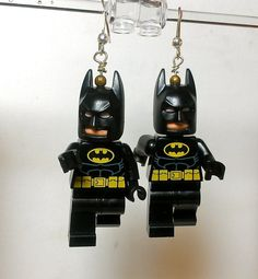 LEGO Batman Earrings