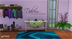 Sims 4 CC's - The Best: Wall Tattoos by Dakot'as Sims 4