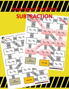 Fraction Maze BUNDLE - These fraction worksheets/mazes build in difficulty so that you can easily differentiate for your different learners while maintaining rigorous instruction for all of your students.  https://www.teacherspayteachers.com/Product/Fraction-Maze-BUNDLE-2115848 #Fractions